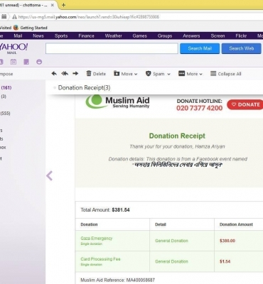 Support With Financial Help In International Crisis