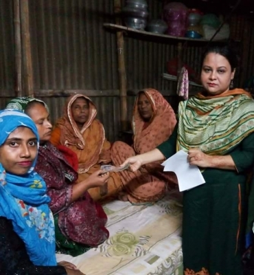 Financial Grant To The Deceased Wahid Chowdhury's Family